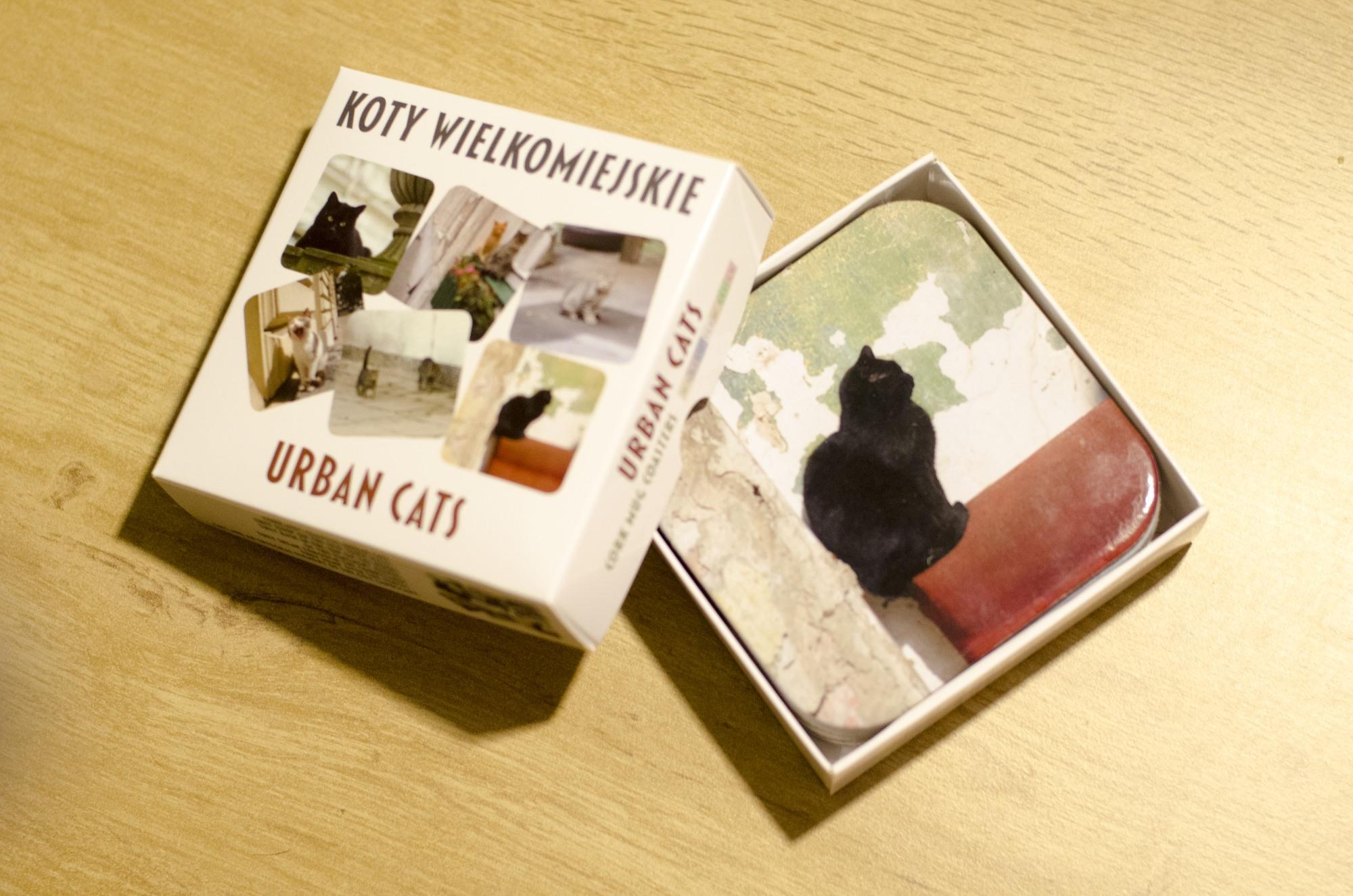 Koty Wielkomiejskie - podstawki korkowe